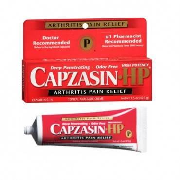Capzasin-hp Cream, 1.5 Oz. Part No. 0-41167-75142 (1/ea)