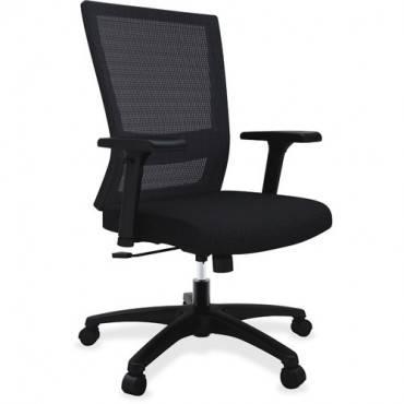 Lorell Mesh Mid-back Swivel Chair (EA/EACH)
