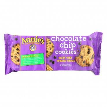 Annie's Homegrown Cookies Chocolate Chip - Case of 10 - 8.4 oz.
