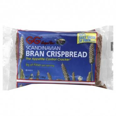 Health Valley Scandinavian Bran Crispbread - Case Of 15 - 3.5 Oz.