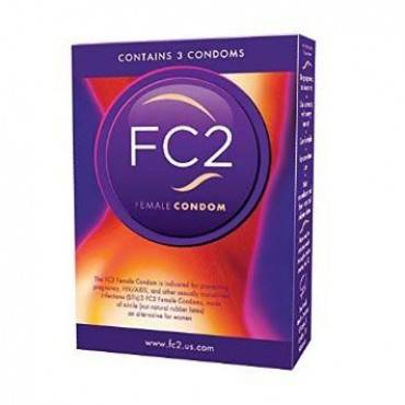 Fc2 female condom 3 part no. fhc00119 (3/package)