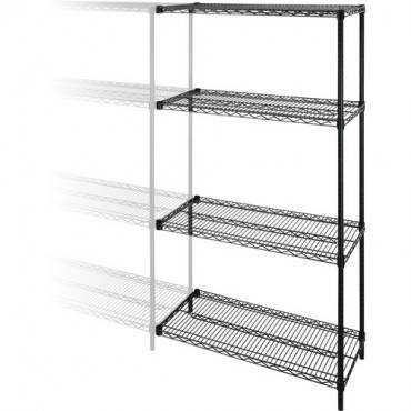 Lorell Industrial Adjustable Wire Shelving Add-On-Unit (EA/EACH)
