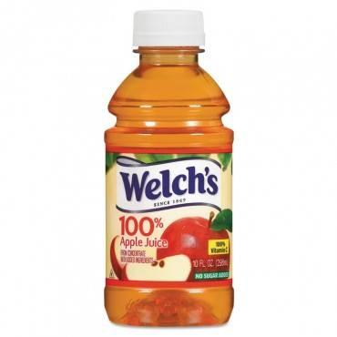 100% Apple Juice, 10 Oz., 24/carton