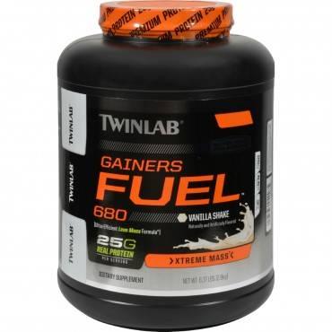 Twinlab Gainers Fuel 680 - Vanilla Shake - 6.17 lb