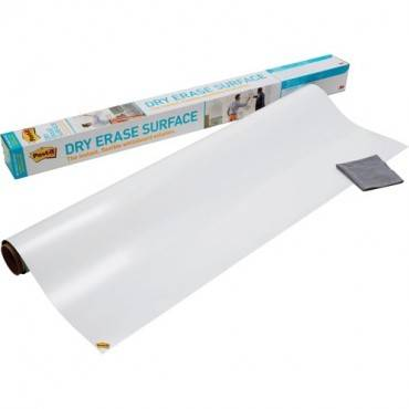 Post-it Self-Stick Dry Erase Film Surface, 36 x 24, White (PK/PACKAGE)