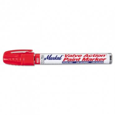 Valve Action Paint Marker, Red