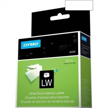"Dymo LW Return Address Labels 3/4"" x 2"" (RL/ROLL)"