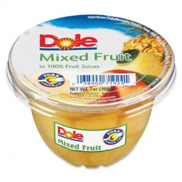 Dole Mixed Fruit Cups (CA/CASE)