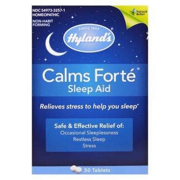 Hylands Homeopathic Calms Fort