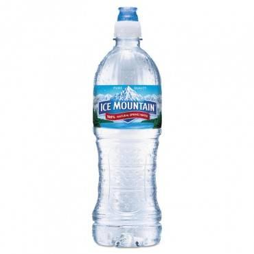 Natural Spring Water, 23.6 Oz Bottle, 24 Bottles/carton