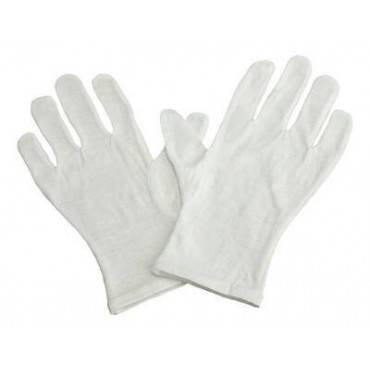 Infection Control Glove Grafcoâ® Medium / Large Cotton White Nonbeaded Cuff Nonsterile(12/dz)