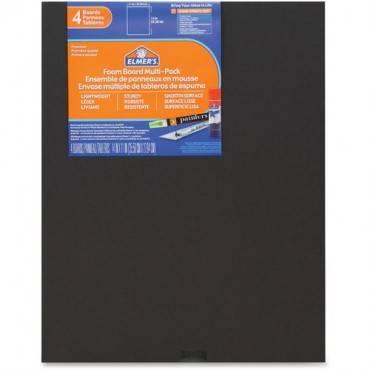 Elmer's 4-pack Black Foam Boards (PK/PACKAGE)