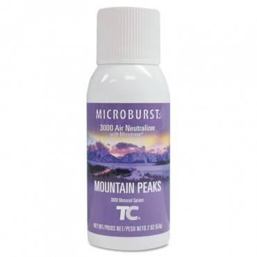 Microburst 3000 Refill, Mountain Peaks, 2oz, Aerosol, 12/carton