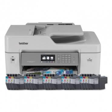Brother Mfc-J6535dwxl Business Smart Printer Pro, Copy/Fax/Print/Scan