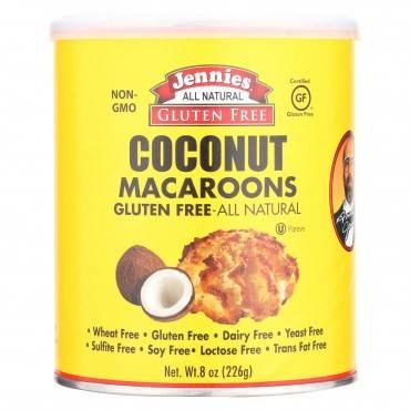 Jennie's Coconut Macaroon - Case Of 12 - 8 Oz.