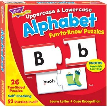 Trend Upper/Lowercase Alphabet Puzzle Set (EA/EACH)