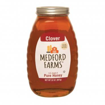 Medford Farms Honey - Clover - Case of 12 - 32 oz