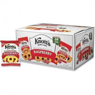 Knott's Biscomerica Raspberry Cookies (CA/CASE)