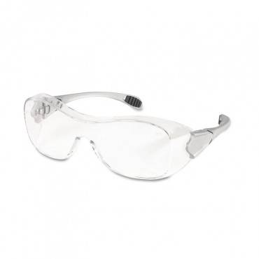 Law Over The Glasses Safety Glasses, Clear Anti-fog Lens