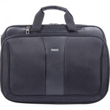 """bugatti Executive Carrying Case (Briefcase) for 17"""" Notebook - Black (EA/EACH)"""