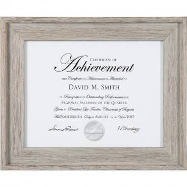 Dax Burns Group Barnwood Document Frame (EA/EACH)