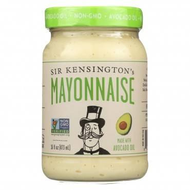 Sir Kensington's Avocado Oil Mayonnaise - Case of 6 - 16 Fl oz.