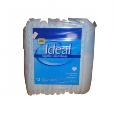 """Ideal Brands Trim Mat Adult Brief X-large 56"""" - 64"""" Part No. Ic-4068 (15/package)"""