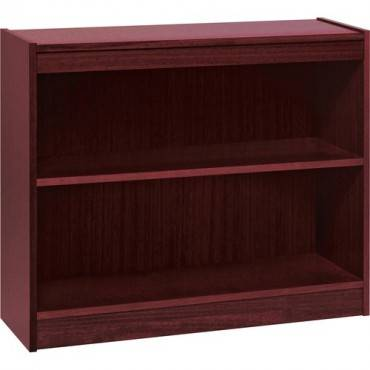 Lorell Panel End Hardwood Veneer Bookcase (EA/EACH)