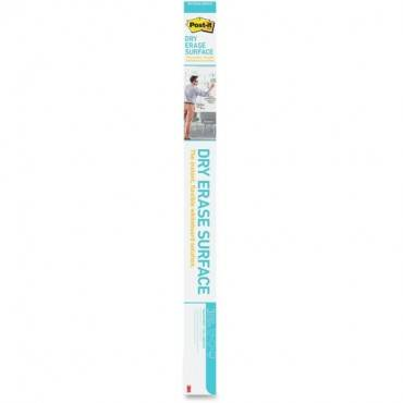 Post-it Self-Stick Dry Erase Film Surface, 96 x 48, White (PK/PACKAGE)