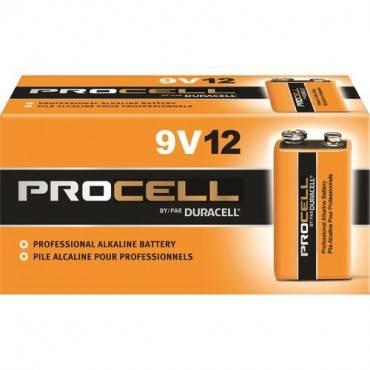 Duracell Procell Alkaline 9V Battery - PC1604 (BX/BOX)