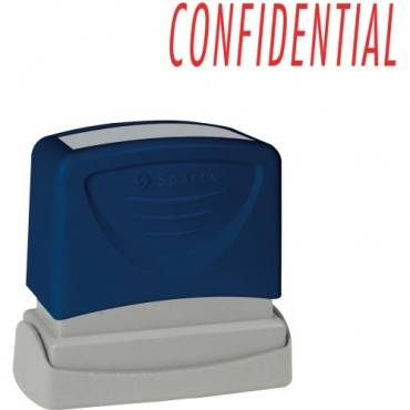 Sparco CONFIDENTIAL Red Title Stamp (EA/EACH)