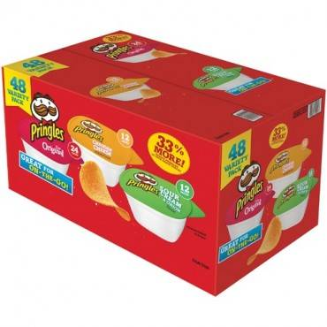 Pringles Crisps Grab 'N Go Variety Pack (BX/BOX)