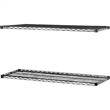 Lorell 2-Extra Shelves for Industrial Wire Shelving (CA/CASE)