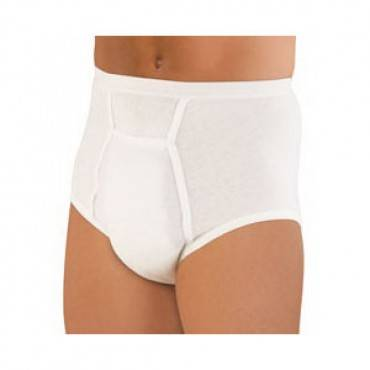Sir Dignity Washable Brief With Built-in Protective Pouch Large 38'' - 40'' Part No. 40213 (1/ea)