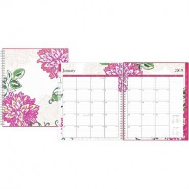 Blue Sky Dahlia Weekly/Monthly Planner (EA/EACH)