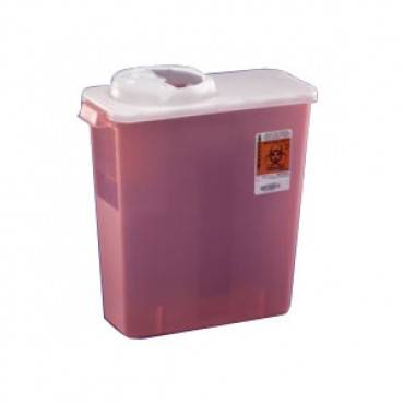Monoject Chimney-Top Sharps Containers 4 Quart (1/EA)