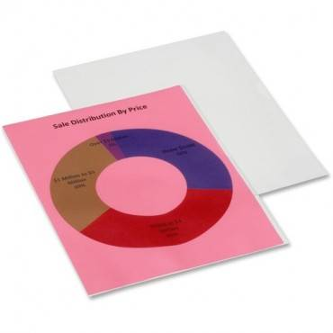 SKILCRAFT Heavy-weight Transparent Project Folders (PK/PACKAGE)
