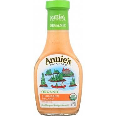 Annie's Naturals Organic Dressing Thousand Island - Case Of 6 - 8 Fl Oz.