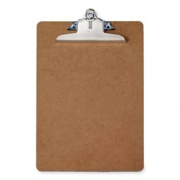 Saunders Brown Hardboard Clipboards (EA/EACH)