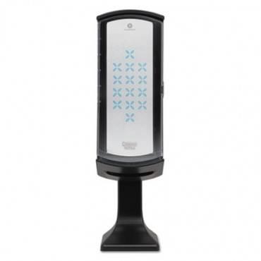 Tower Napkin Dispenser, 8 1/25w X 8 7/64d X 28 25/32h, Black