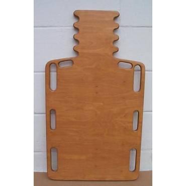 Henley Board    Wood Short Spine Backboard W/ Pinned Hole  32  L  X 16  W Part No.hb1034
