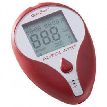 Advocate Redi-code+ Talking Glucose Meter Kit Part No. Bmb001skr (1/ea)
