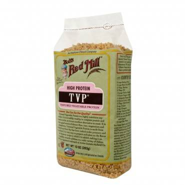 Bob's Red Mill - Tvp (textured Vegetable Protein) - 10 Oz - Case Of 4