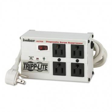 Isobar4ultra Isobar Surge Suppressor, 4 Outlets, 6 Ft Cord, 3330 Joules