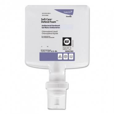 Soft Care Defend Foam Handwash, Fragrance-free, 1.2 L Refill, 6/carton