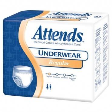 "Attends Unisex Regular Absorbency Value Tier Protective Underwear Medium 34"" - 44"" Part No. Apv20 (80/case)"