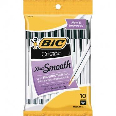 BIC Classic Cristal Ballpoint Pens (PK/PACKAGE)