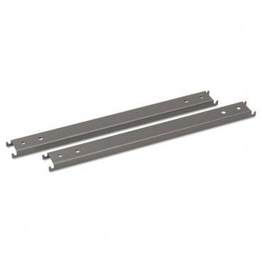 "Hon  Double Cross Rails For 42"" Wide Lateral Files, Gray"