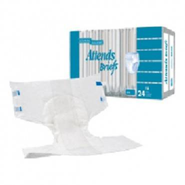 """Attends Disposable Poly Brief X-Large 58"""" - 63"""" Part No. BR40 Qty  Per Package"""