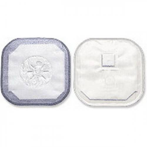 """Stoma Cap with Porous Cloth Tape Adhesive 2"""" Opening 4-1/4"""" Part No. 3184 Qty  Per Box"""